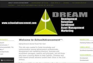 2010 site redesign